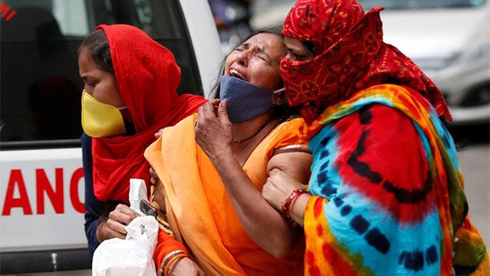 ভারতে করোনা সংক্রমণে বিশ্বরেকর্ড