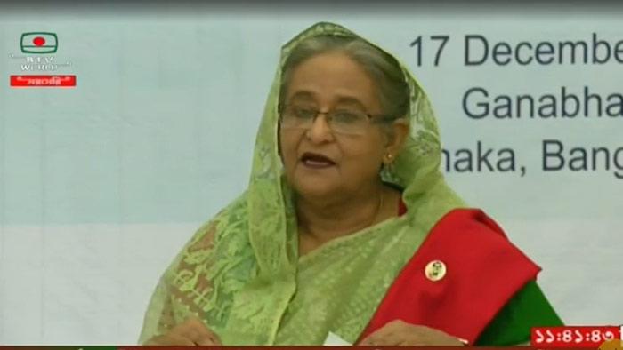 বাংলাদেশ-ভারতের অর্থনীতি আরো সংহত করার ওপর গুরুত্বারোপ প্রধানমন্ত্রীর