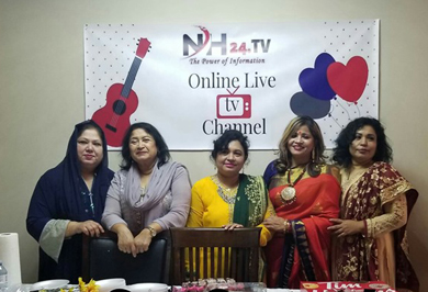 টরন্টো থেকে NH24 নামে বাংলা অনলাইন টিভির যাত্রা শুরু