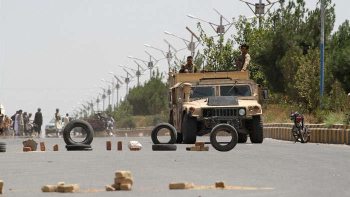 আফগানিস্তানের প্রাদেশিক রাজধানী দখল করল তালেবান